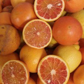 Pacco misto 6 : Tarocco rosso e Limoni confezione 30 Kg Spedizione lunedì e martedì