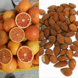 Mandorle + arance da spremuta   pacco da 30kg – Spedizione lunedì e martedì