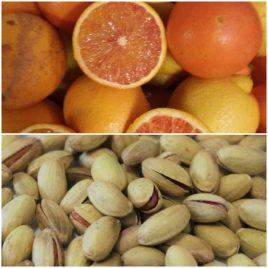 Pistacchi salati + arance da spremuta pacco da 30kg – Spedizione lunedì e martedì